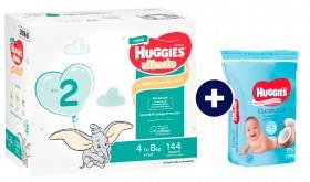 Huggies-Mega-Nappies-200-Pack-Wipes-Bundle on sale