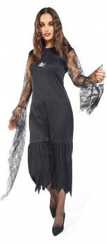 Adults-Morticia-Costume on sale