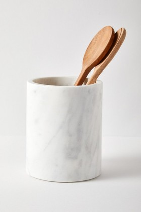 Marble-Utensil-Holder on sale