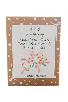 Make-Your-Own-Tassel-Necklace-and-Bracelet on sale