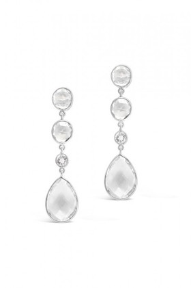 By-Fairfax-Roberts-Real-Gemstone-Four-Stone-Drop-Earrings on sale