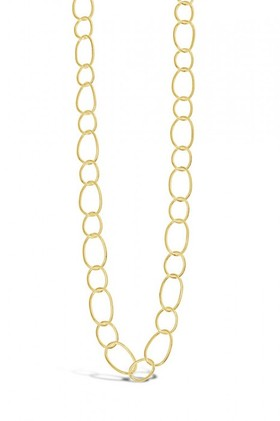 By-Fairfax-Roberts-Contemporary-Open-Link-Long-Necklace on sale