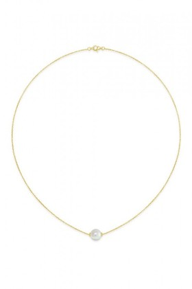 By-Fairfax-Roberts-Real-Pearl-Modern-Twist-Slider-Necklace on sale