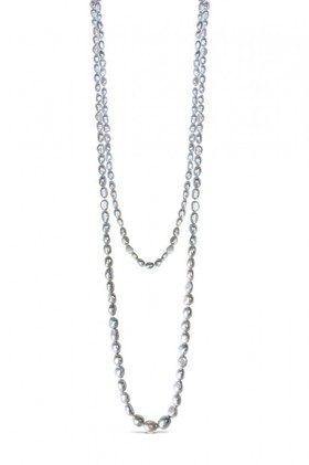 By-Fairfax-Roberts-Real-Pearl-Graduated-Necklace on sale
