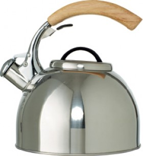 Smith-Nobel-2.5L-Whistling-Kettle-with-Rubberwood-Handle on sale