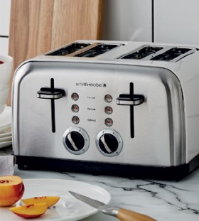 Smith-Nobel-4-Slice-Toaster-White on sale