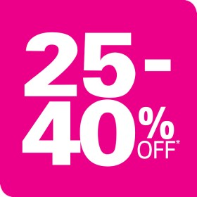 25-40-off-All-Sporting-Clothing-Footwear on sale