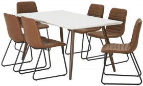 NEW-Stockholm-7-Piece-Dining-Set-with-Frankie-Chairs on sale