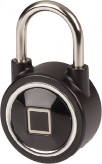Bluetooth-Controlled-Padlock-with-Fingerprint-Scanner on sale