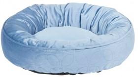 Harmony-Rhapsody-Velvet-Round-Cat-Basket-Blue on sale