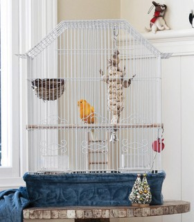You-Me-Curve-Top-Bird-Cage on sale