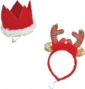 Joy-Love-Hope-Christmas-Pet-Headpieces-XS-S on sale