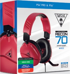 Turtle-Beach-Recon-70-Red-Headset on sale