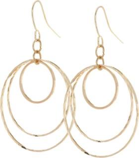 B-Collection-Triple-Loop-Earrings on sale