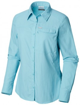 Columbia-Womens-Silver-Ridge-II-Long-Sleeve-Hike-Shirt on sale