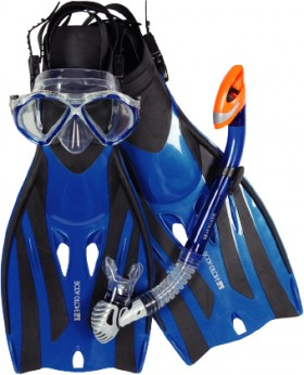 Body-Glove-Quantum-2.0-4-Piece-Snorkel-Set on sale