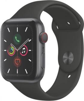 Apple-Watch-Series-5-GPS-Space-Grey-Aluminium-Case-Black-Sports-Band on sale