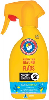 Surf-Life-Saving-Sport-Sunscreen-SPF50-250mL on sale