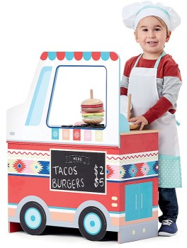 NEW-Wooden-Food-Truck on sale