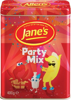 Allens-Party-Mix-Tin-400g on sale