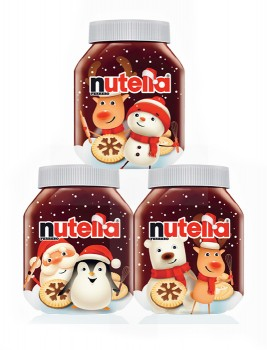 Nutella-Christmas-Jars-1kg on sale