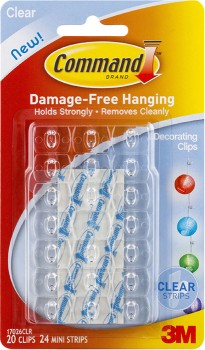 3M-Command-20Pk-Decorating-Clips on sale