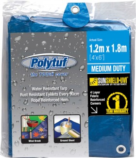 Polytuf-Medium-Blue-Tarpaulin on sale