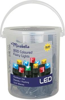 Mirabella-LED-Solar-Fairy-Lights on sale