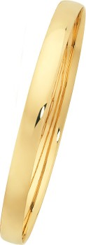 9ct-Gold-65mm-Solid-Bangle on sale