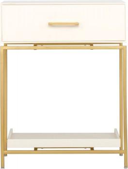 Saskia-1-Drawer-Bedside-Table-in-Ivory-Gold on sale