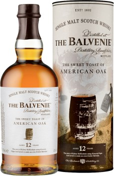 Balvenie-The-Sweet-Toast-of-American-Oak-12-Year-Old-Single-Malt-Scotch-Whisky-Scotland-700mL-43.0 on sale