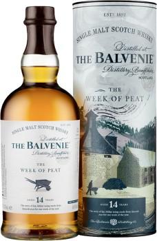 Balvenie-The-Week-of-Peat-14-Year-Old-Single-Malt-Scotch-Whisky-Scotland-700mL-48.3 on sale