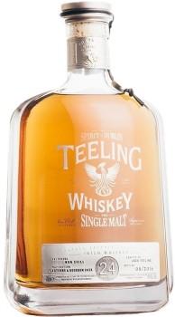 Teeling-24-Year-Old-Single-Malt-Irish-Whiskey-Ireland-700mL-46.0 on sale