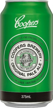 Coopers-Original-Pale-Ale-Cans-375mL on sale