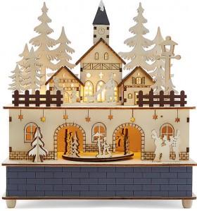 Musical-Light-Up-Wood-Scene on sale