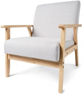 Upholstered-Timber-Chair on sale