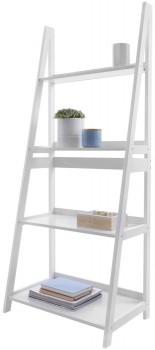 White-Ladder-Bookshelf on sale