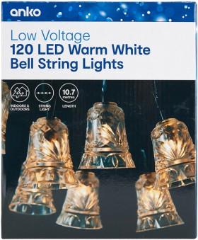 120-LED-Low-Voltage-Warm-White-Bell-String-Lights on sale