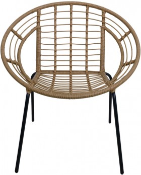 Woven-Lounge-Chair-Natural on sale