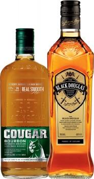 Cougar-Bourbon-or-Black-Douglas-Scotch-700mL on sale