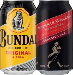 Bundaberg-Rum-U.P.-or-Johnnie-Walker-Cola-4.6-10-Pack on sale