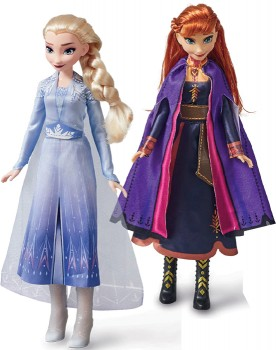 Disney-Frozen-II-Singing-Anna-or-Elsa-Dolls on sale