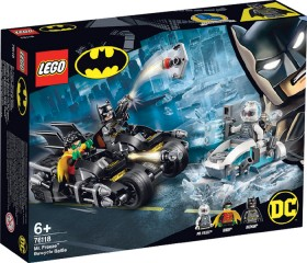 LEGO-Batman-Mr-Freeze-Batcycle-Battle-76118 on sale
