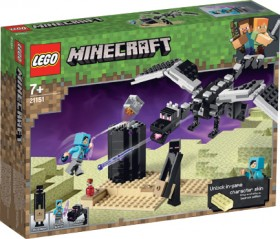 LEGO-Minecraft-The-End-Battle-21151 on sale