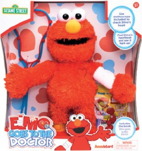 NEW-Sesame-St-Elmo-Goes-to-the-Doctor on sale