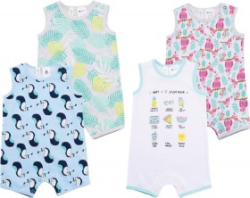 Dymples-Print-Rompers on sale