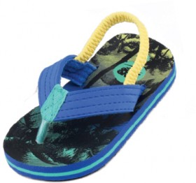 Wave-Zone-Infant-Boys-Tropical-Print-Thongs-Multi on sale