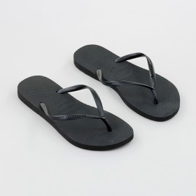 Havaianas-Womens-Slim-Thongs-Black on sale