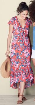 me-Tie-Front-Maxi-Dress on sale