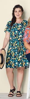 Avella-Print-Dress on sale